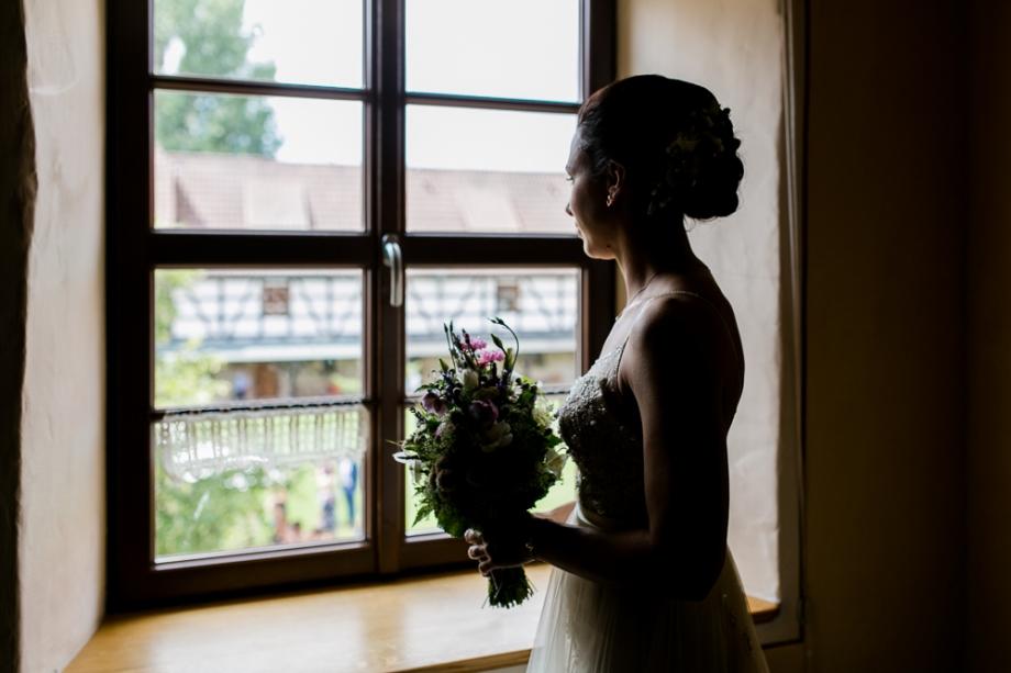 Hochzeitsfotos Rittergut Positz Braut