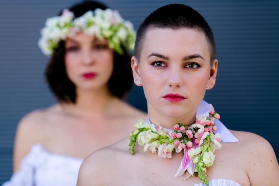Inspirationsshooting für eine Lesbische Hochzeit in Dresden
