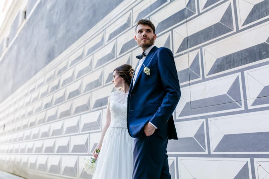 Fotoshooting mit Brautpaar in Dresden 2018