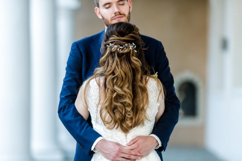romantische und moderne Hochzeitsreportage in Dresden