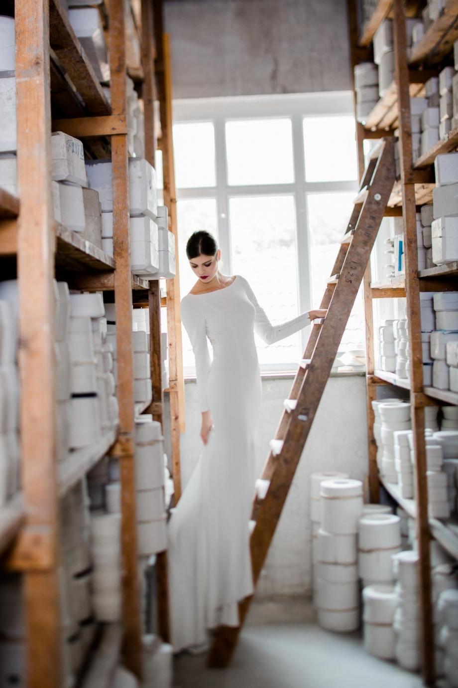 Hochzeitsfotos in Meissen in der Porzellanmanufaktur