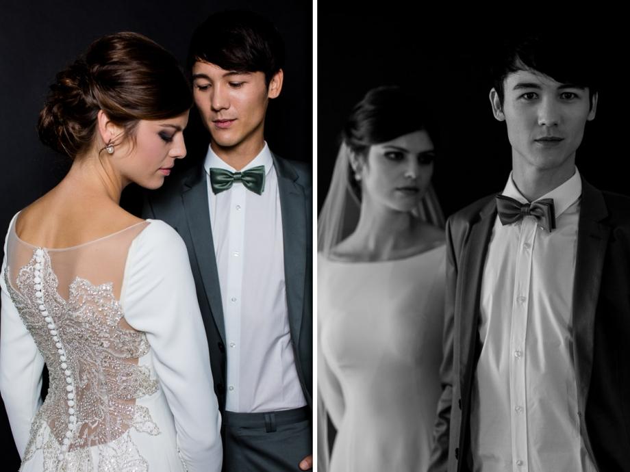 Elegantes und luxuriöses Brautkleid einer Hochzeit in Dresden