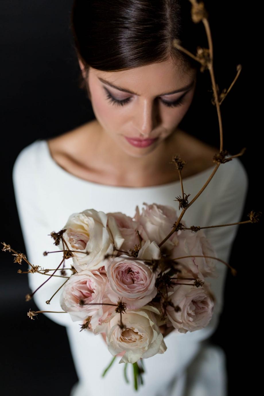 """japanischer Brautstrauß von """"die Blumenbinderei"""" in Dresden"""