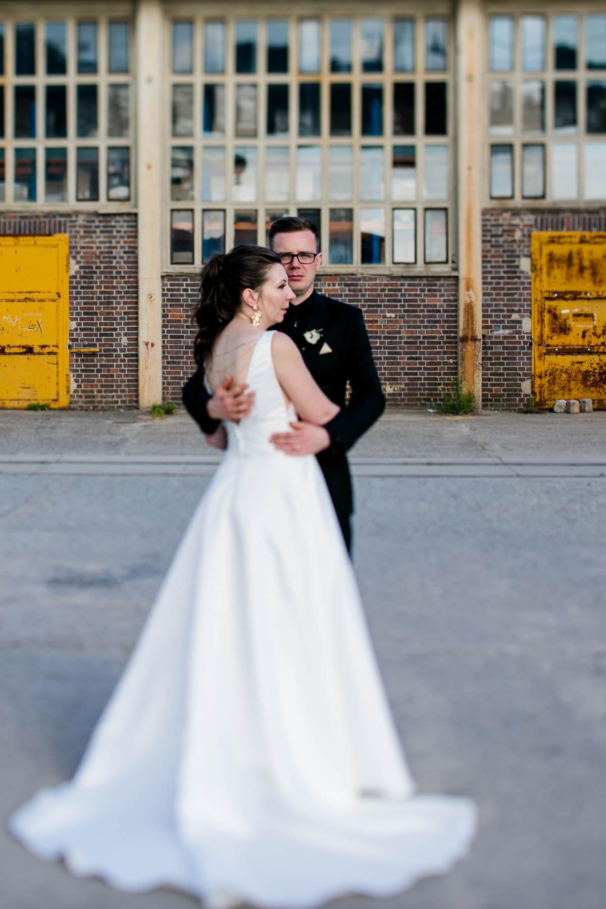 Brautpaar industrial