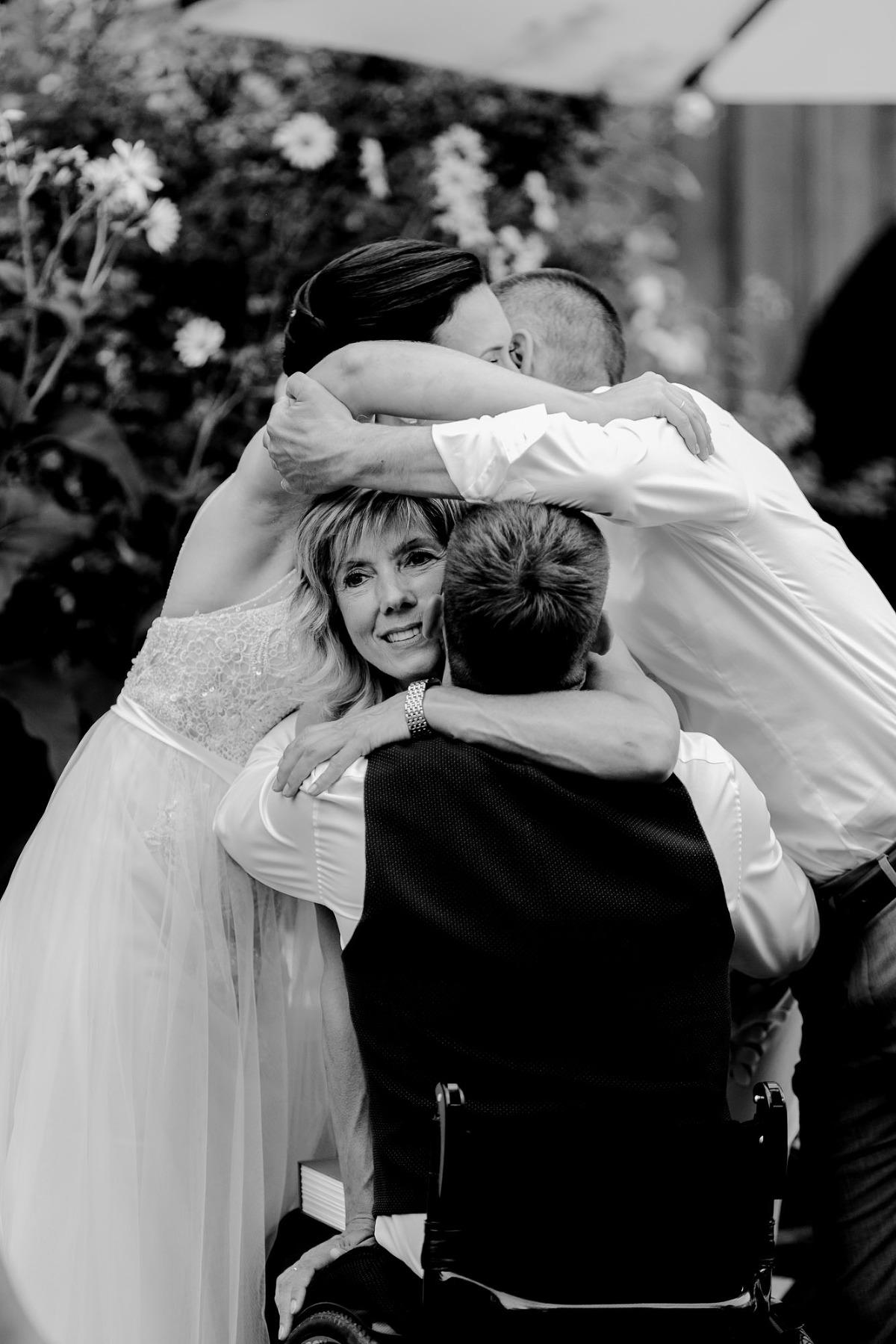 Gratulationsszene Hochzeit