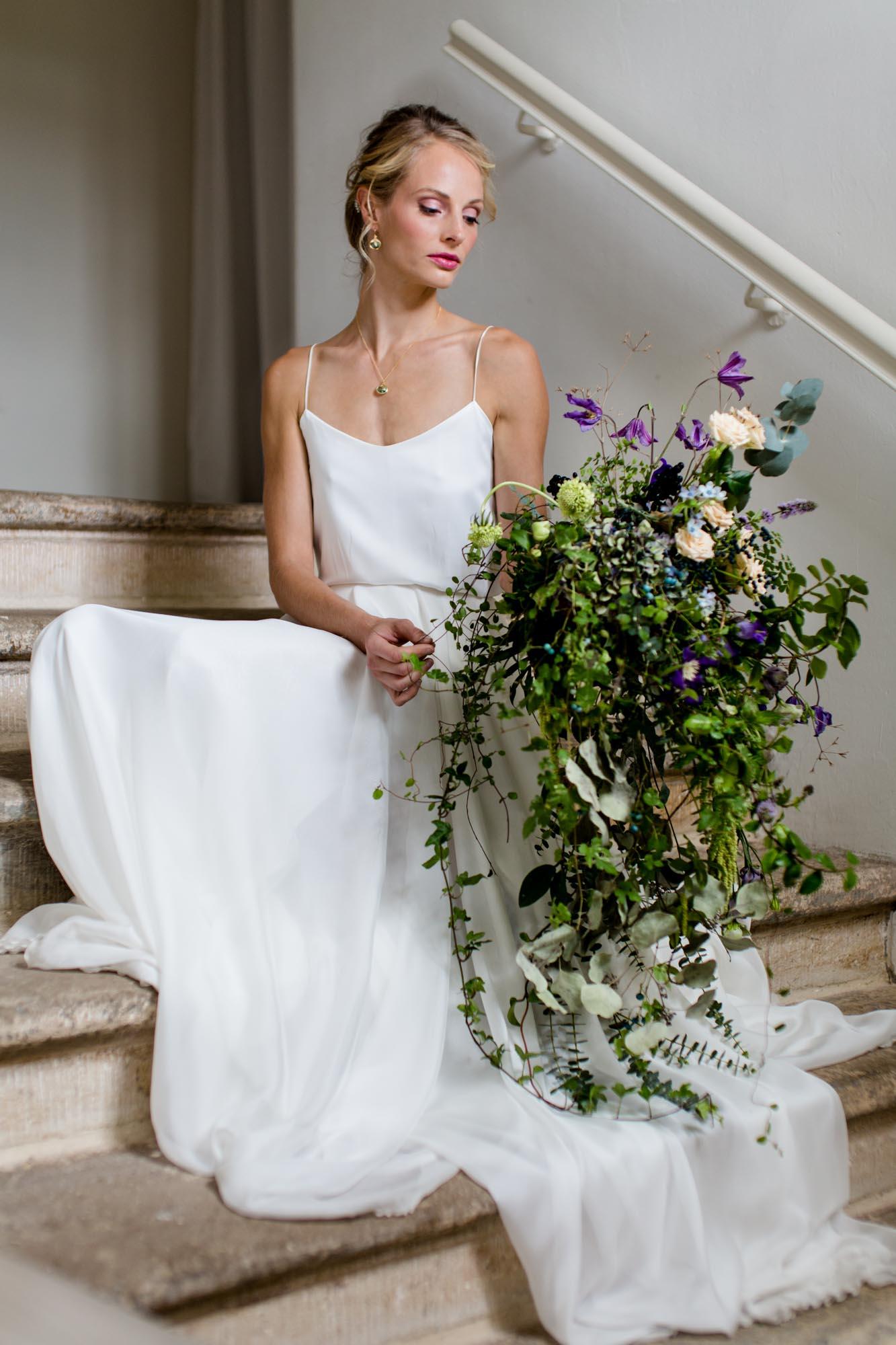 Junge Braut fotografiert von Hochzeitsfotograf Dresden