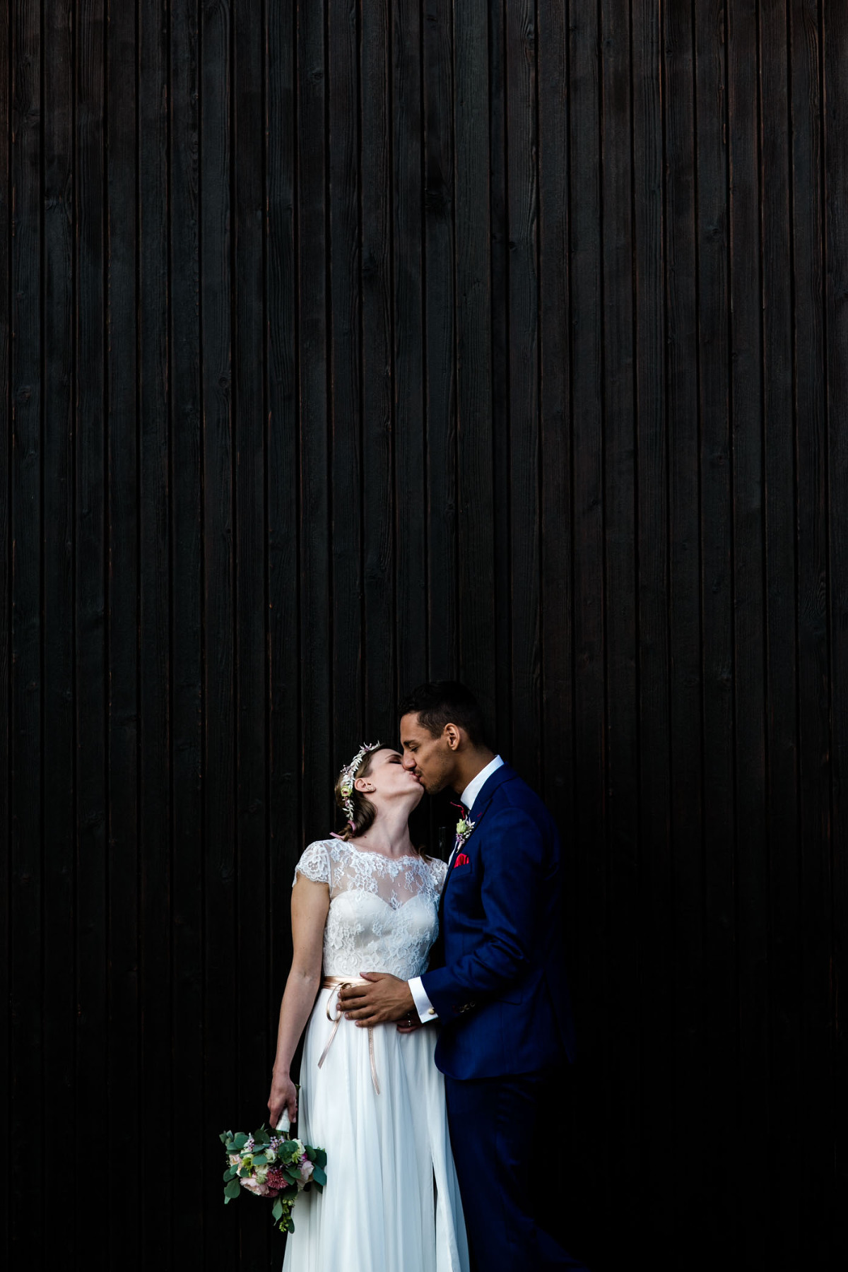 Brautpaar bei Hochzeit im Marienschacht Bannewitz